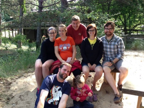 family at saugatuck