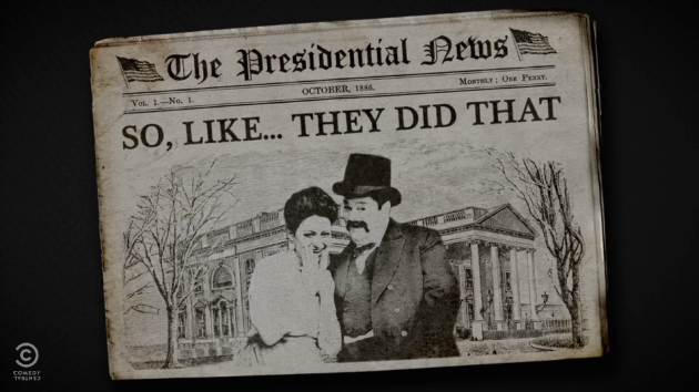 "From ""Drunk History: First Ladies"""